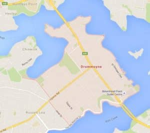 Map of Drummoyne