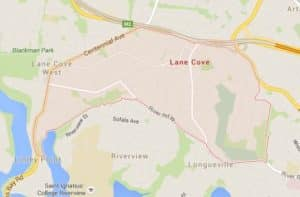Lane-Cove-map